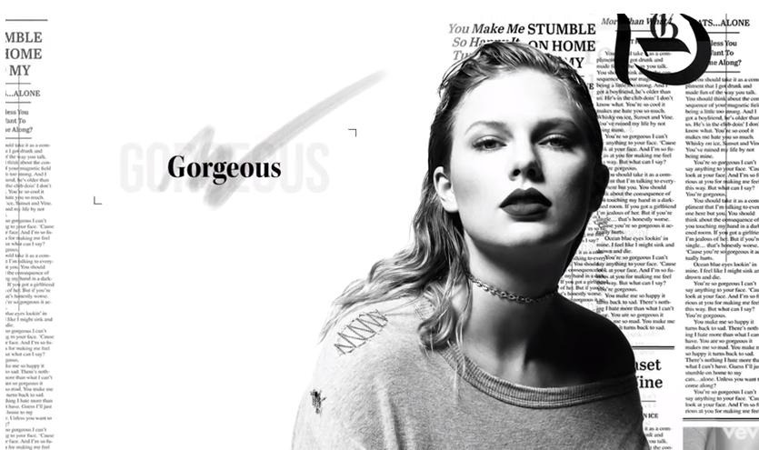 Новая песня Тейлор Свифт «Gorgeous», видео