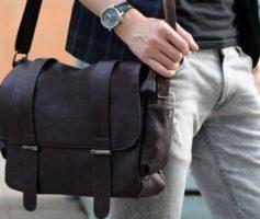 Сумка через плечо – незаменимый аксессуар для каждого мужчины