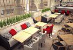 Мягкая мебель для кафе и ресторанов по выгодным ценам