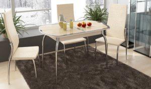 Обеденные столы в форме овала – особенности и преимущества 2