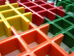 Стеклопластиковый решетчатый настил