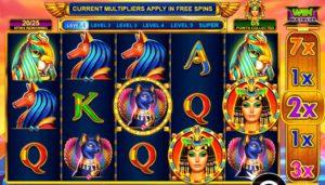 Игровой автомат Queen of Gold